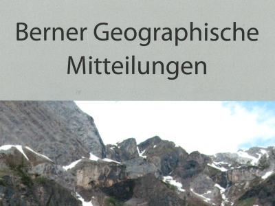 Berner Geographische Mitteilungen