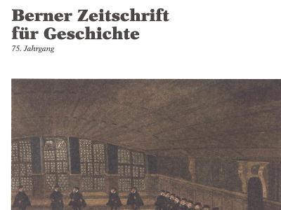 Berner Zeitschrift für Geschichte