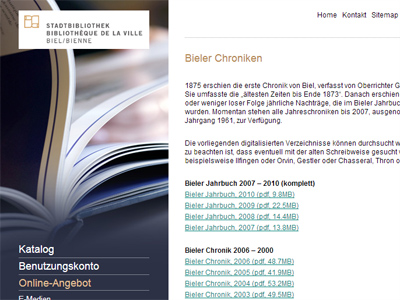 Bieler Chroniken