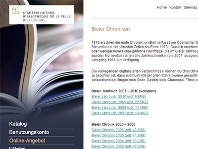 Bieler Chroniken