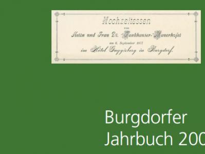 Burgdorfer Jahrbuch