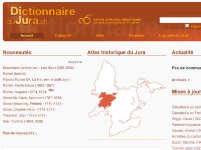 Dictionnaire du Jura | Lexikon des Jura (DIJU)