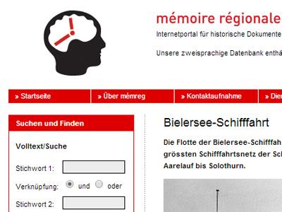 Mémoire régionale | Regionales Gedächtnis (mémreg)