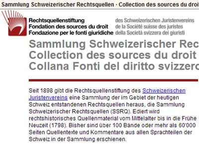 Rechtsquellen des Kantons Bern