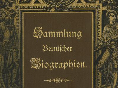 Sammlung bernischer Biographien