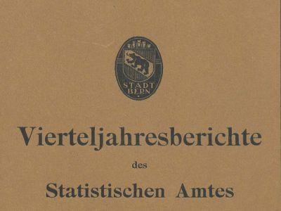 Statistik Stadt Bern
