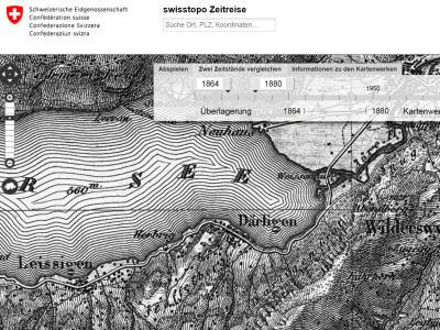 Swisstopo-Zeitreise