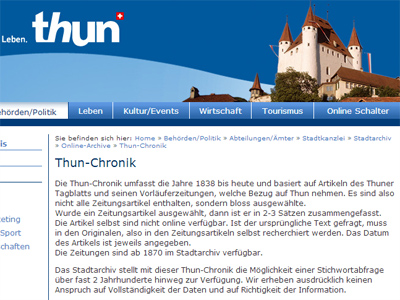 Thun-Chronik