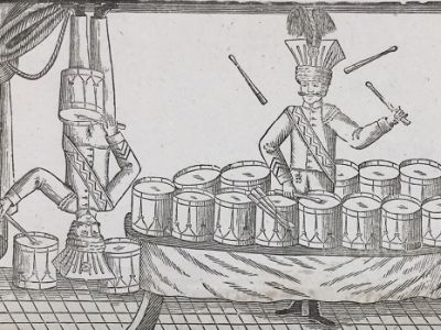 Zirkus- und Schaustellerplakate der Sammlung Druckbelege Haller